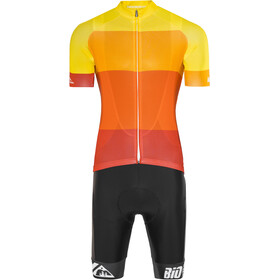 Red Cycling Products Colorblock Race Set Herr red-yellow